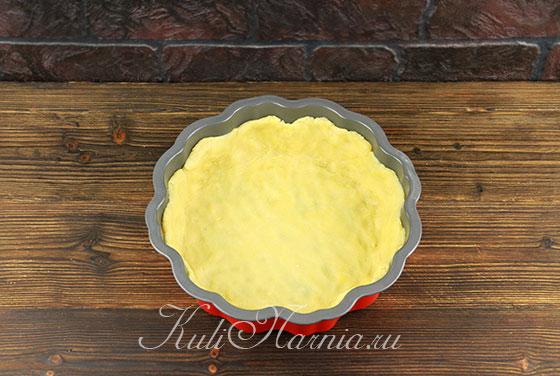 Песочная корзина для ягодного пирога
