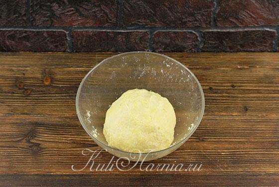 Песочное тесто для ягодного пирога