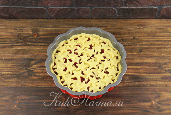Покрываем пирог узором