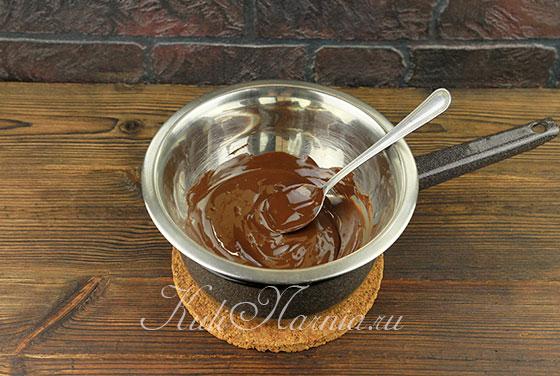 Рецепт шоколадно-бананового пирога с фото