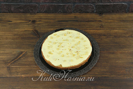 Рецепт торта День и ночь с орехами