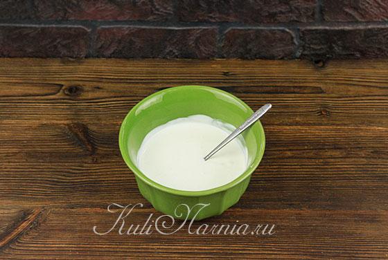 Рецепт торта День и ночь со сметаной