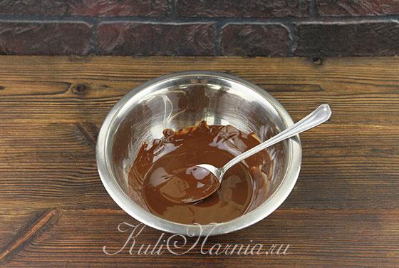Шоколадный пирог рецепт с бананом пошагово