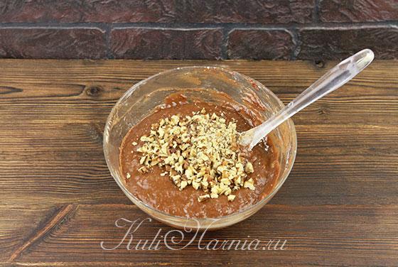 Шоколадный пирог рецепт с бананом с фото