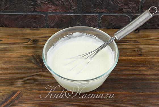 Сметанный крем для бисквита