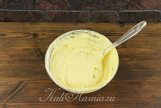 Тесто для медового бисквита