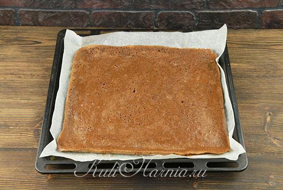 Торт с клубникой шоколадный рецепт