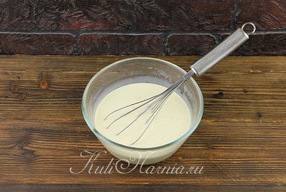 Делаем пропитку для торта три молока