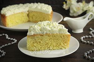 Классический рецепт торта Три молока
