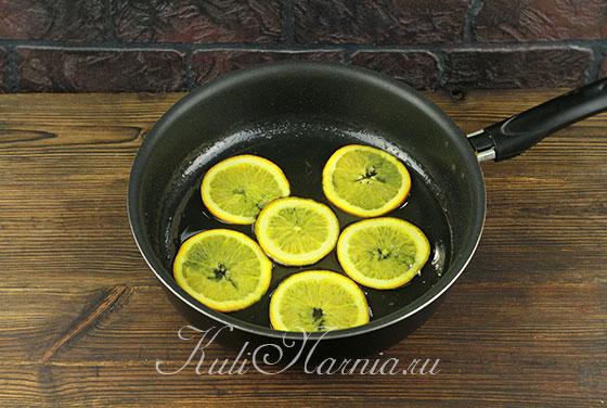 Перекладываем апельсины в сироп