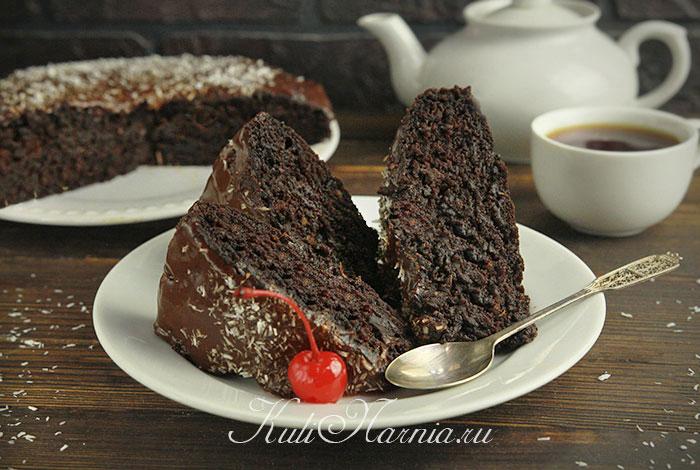 Сумасшедший пирог Crazy cake рецепт