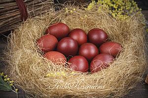 Как красить яйца в луковой шелухе рецепт