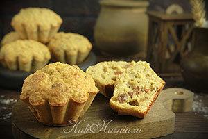 Овсяные кексы без масла и муки рецепт