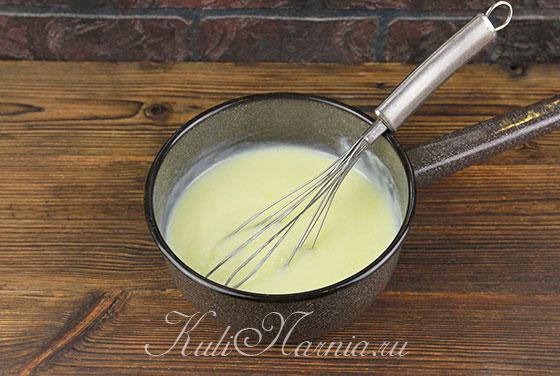 Завариваем крем для торта