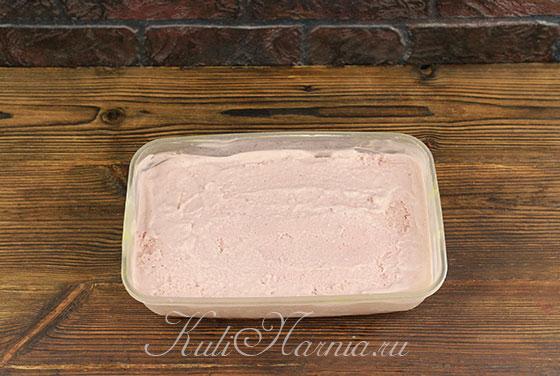 Перемешиваем мороженое