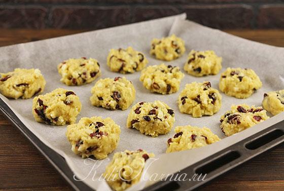 Делаем заготовки для печенья