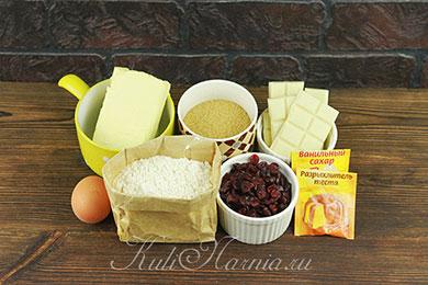 Ингредиенты для печенья Кукис