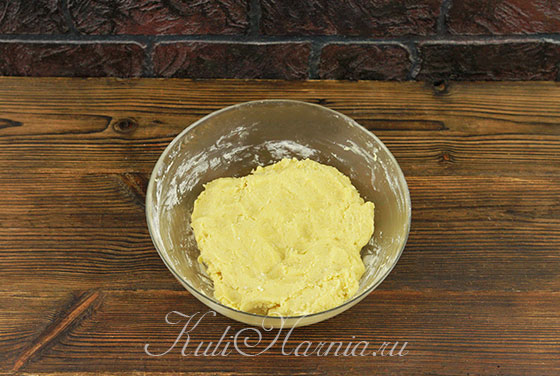 Вымешиваем тесто для Кукис