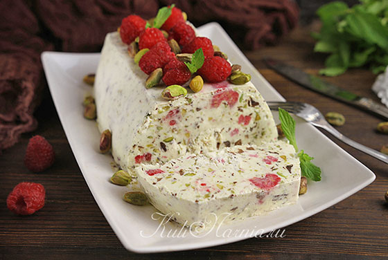 Десерт семифредо готов