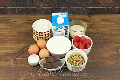 Ингредиенты для мороженого семифредо