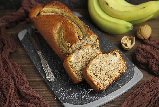 Банановый хлеб готов