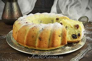 Кекс на кефире в духовке рецепт