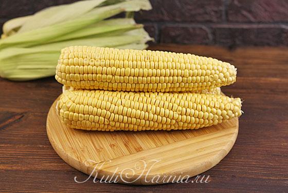 Промываем кукурузу