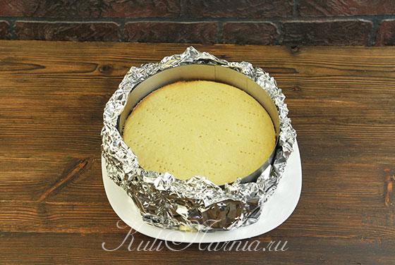 Сборка яблочного торта