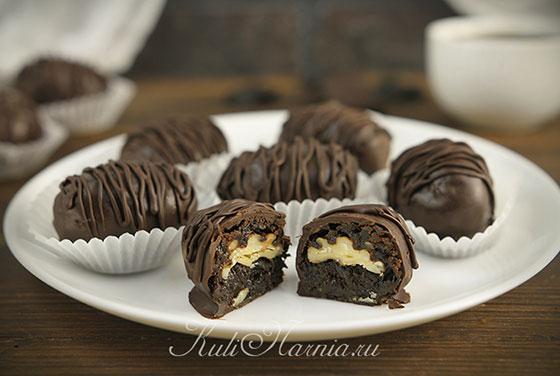 Конфеты чернослив в шоколаде готовы