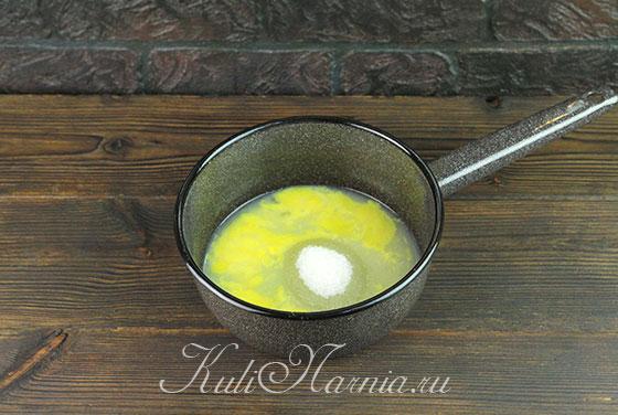 Лимонный мусс для торта из профитролей