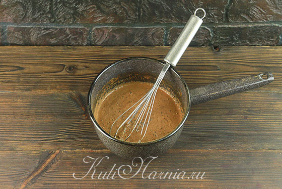 Ингредиенты для горячего шоколада из какао