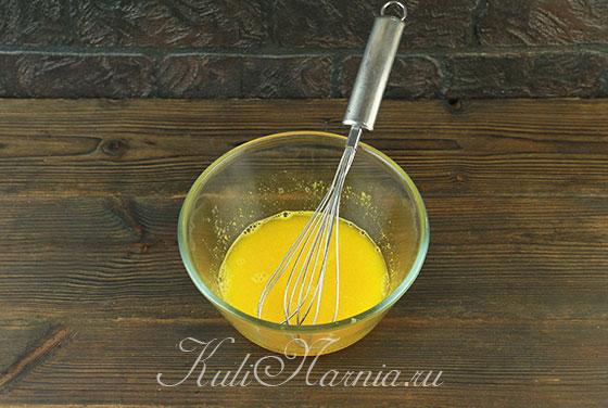 Добавляем желатин к мандариновой массе