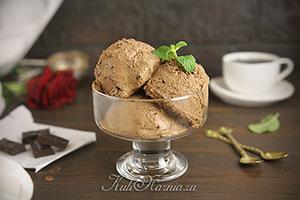 Шоколадное мороженое рецепт