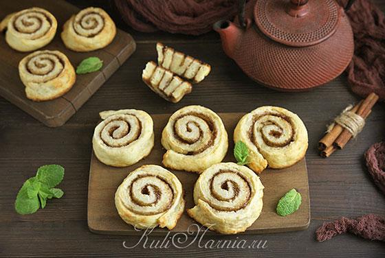 Творожные булочки в духовке готовы
