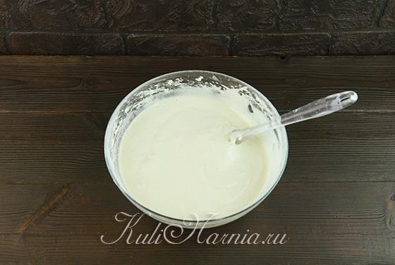 Тесто для шифонового бисквита готово