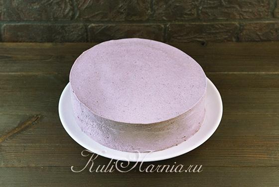 Достаем торт из формы