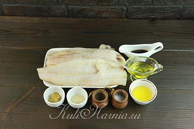 Ингредиенты для рыбы в соевом соусе