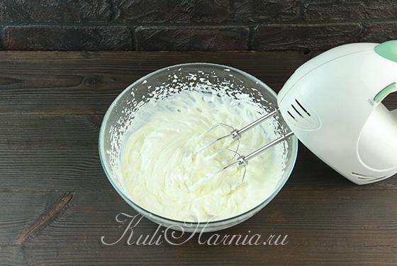 Взбиваем сливки с сыром