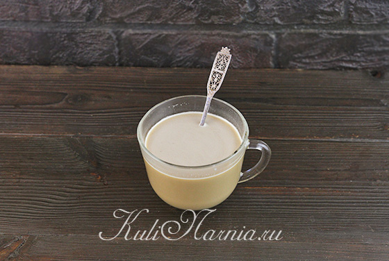 Растворяем кофе в молоке