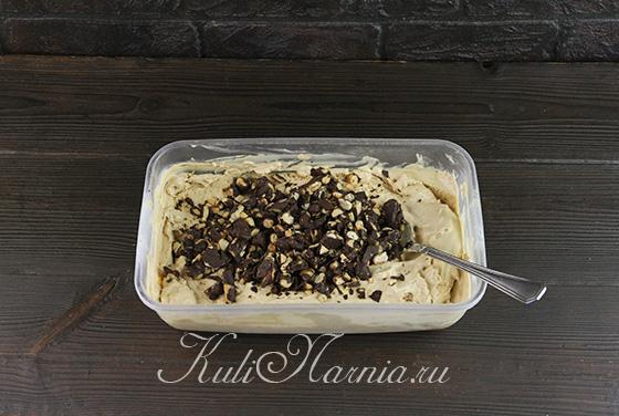 Добавляем арахис в мороженое