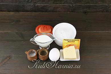 Ингредиенты для рисоблина с сыром