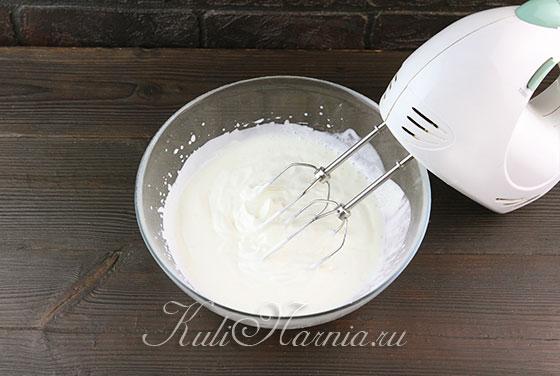 Добавляем желатин к крему