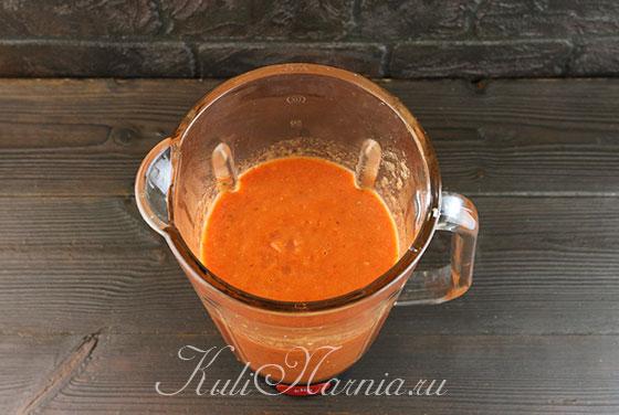 Измельчаем овощи для супа