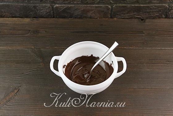 Растапливаем шоколад