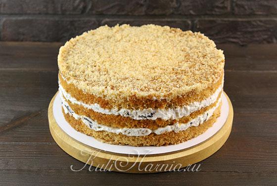 Вынимаем торт из кольца