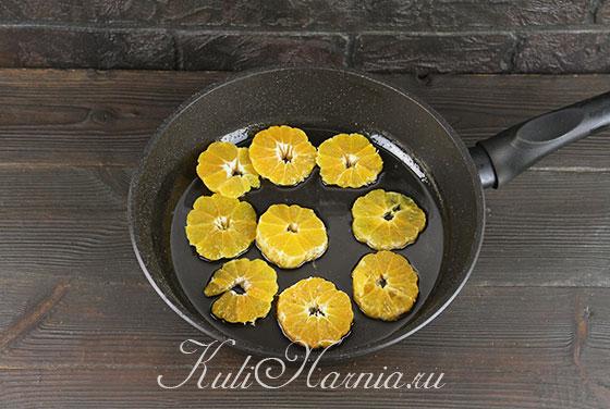 Готовим сироп для мандариновой шарлотки