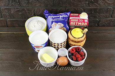 Ингредиенты для торта цифра