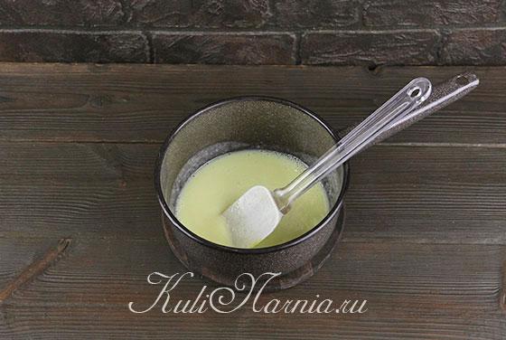 Варим молочный крем для мороженого