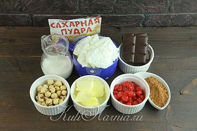 Шоколадная творожная паскха ингредиенты