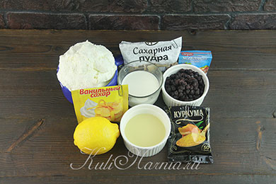 Творожная паскха с желатином ингредиенты